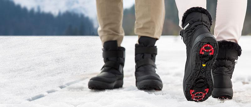 Нові Антиковзаючі зимові напівчоботи Walkmaxx!