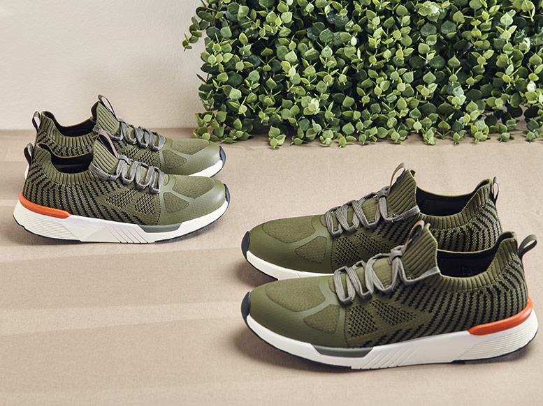 Walkmaxx Sneaker Urban Green Flat